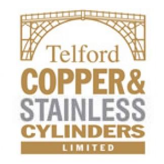Cylindres en cuivre et en acier inoxydable Telford