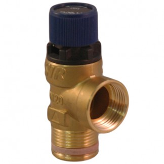 """Telford Cylinders - 3.5 Bar 3/4"""" Expansion Pressure Relief Valve"""