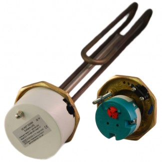 "Thermco - 1"" 3/4"" 3kW Immersion Heater 14"" for Unvented Cylinders"