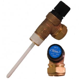 """3/4"""" TPR22 Temperature & Pressure Relief Valve 10 bar 95605810"""