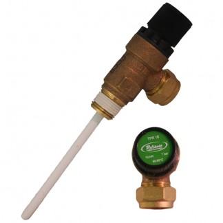 Advance Appliances - Valvola di sfogo pressione e temperatura 7 bar 90-95 ° C
