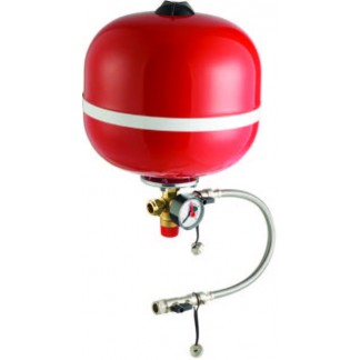 Essentials 8 Litre Heating Expansion Vessel with Sealed System Kit