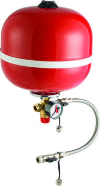 Essentials 19 Litre Heating Expansion Vessel with Sealed System Kit