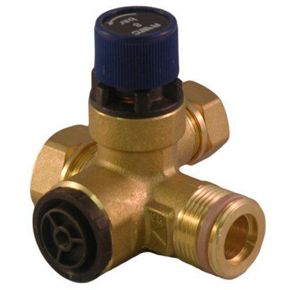 Heatrae Sadia - 6 Bar Core Unit Pressure Relief Expansion Manifold Valve