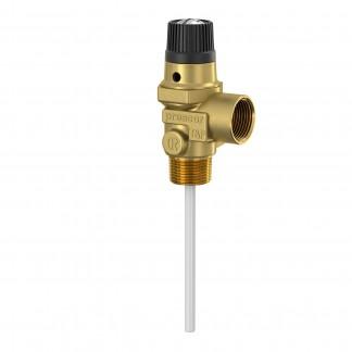 Flamco Prescor T&P - Valvola limitatrice di temperatura e pressione 7 bar 22mm