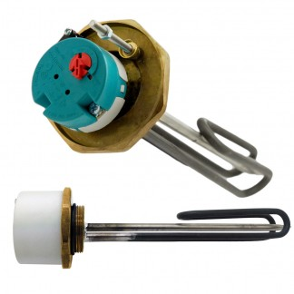 "Joule - 1"" 3/4"" 3kW Immersion Heater 14"" for Unvented Cylinders"