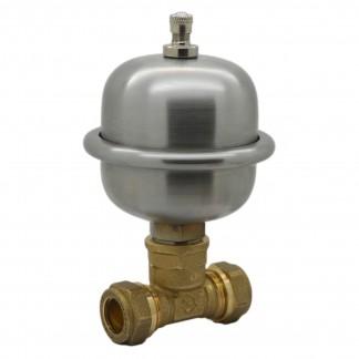 Easy Fit Mini Expansion Vessel Shock Arrestor Anti-Water Hammering 15mm / 22mm
